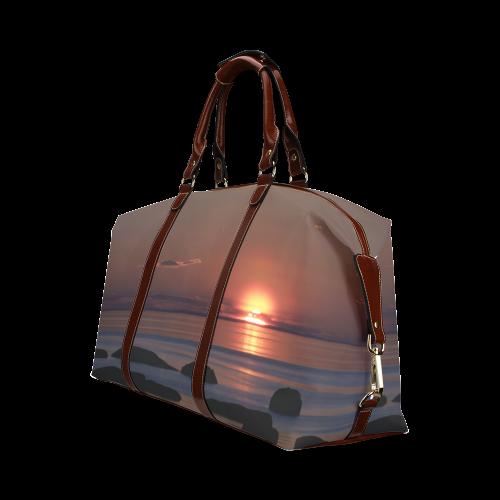 Shockwave Sunset Classic Travel Bag (Model 1643)
