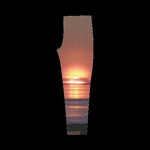 Shockwave Sunset. Capri Legging (Model L02)