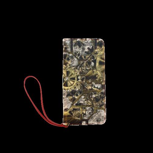 Metal Steampunk Women's Clutch Wallet (Model 1637)