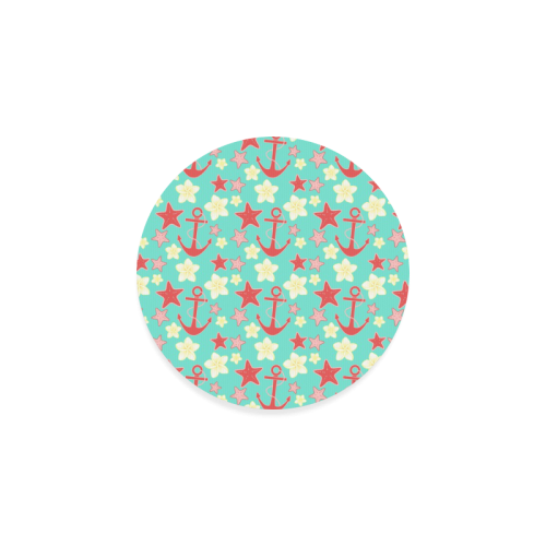 Summer pattern Round Coaster