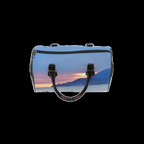 Sunrise in Tourelle Boston Handbag (Model 1621)