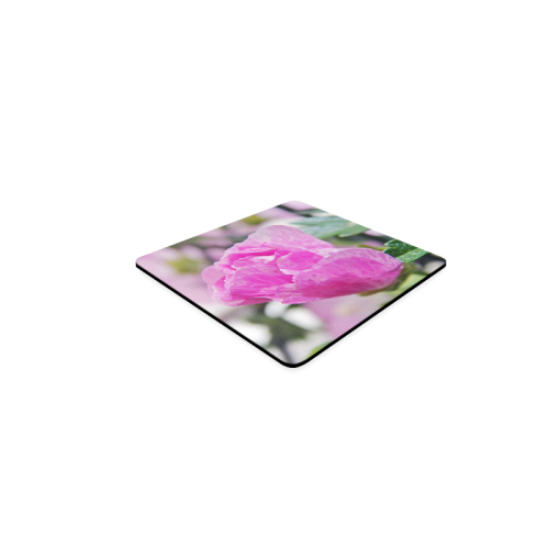 Musk Mallow Square Coaster