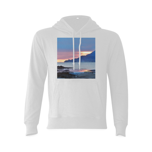 Sunrise in Tourelle Gildan Hoodie Sweatshirt (Model H03)