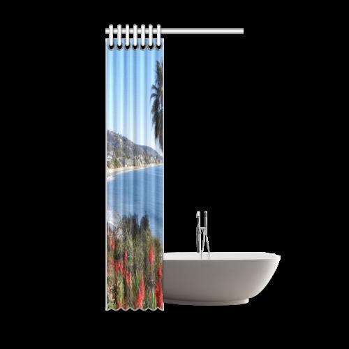 "Travel-Laguna Beach Shower Curtain 36""x72"""