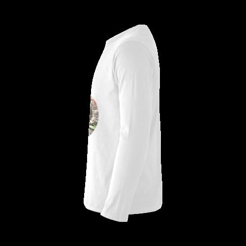 Art Studio 12216 Gorilla Sunny Men's T-shirt (long-sleeve) (Model T08)