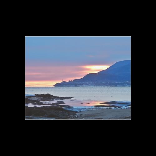 "Sunrise in Tourelle Poster 14""x11"""