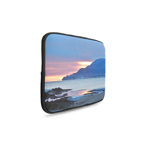 Sunrise in Tourelle Custom Laptop Sleeve 14''