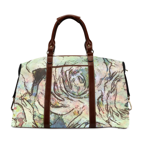 Floral Art Studio 6216A Classic Travel Bag (Model 1643)