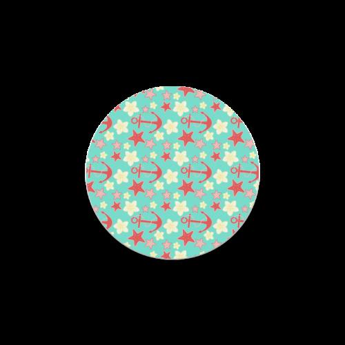 Summer pattern Round Coaster
