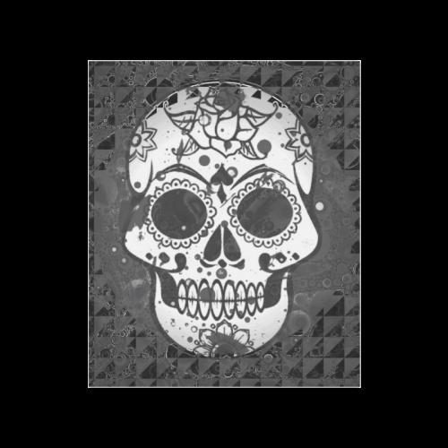 """black and white Skull Poster 20""""x24"""""""