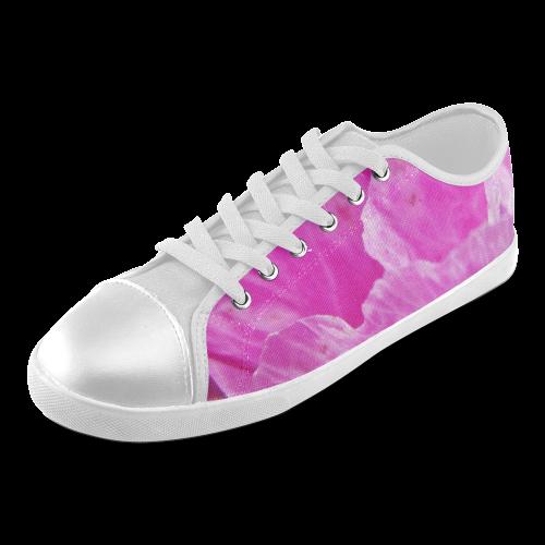 Musk Mallow. Women's Canvas Shoes (Model 016)