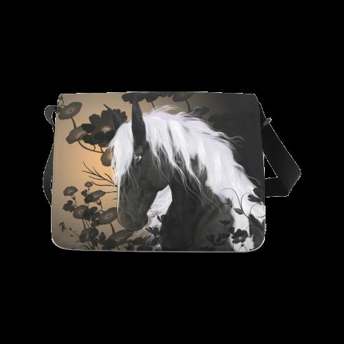 Beautiful horse Messenger Bag (Model 1628)