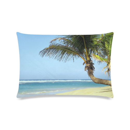 "Beach20160101 Custom Zippered Pillow Cases 16""x24""(Twin Sides)"