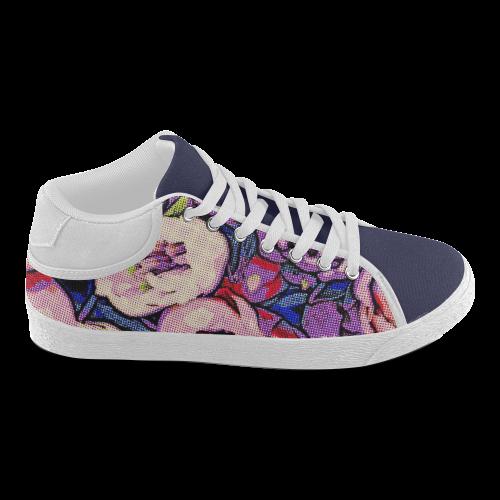 Floral Art Studio 28216Z Women's Chukka Canvas Shoes (Model 003)