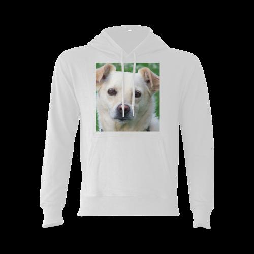 Dog face close-up Oceanus Hoodie Sweatshirt (Model H03)