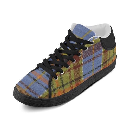 ADAM TARTAN Women's Chukka Canvas Shoes (Model 003)