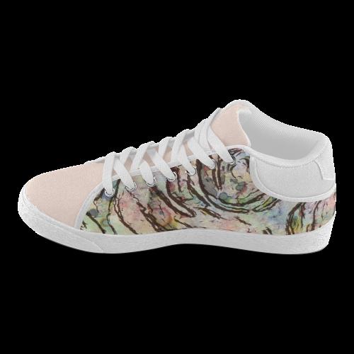 Floral Art Studio 6216A Women's Chukka Canvas Shoes (Model 003)
