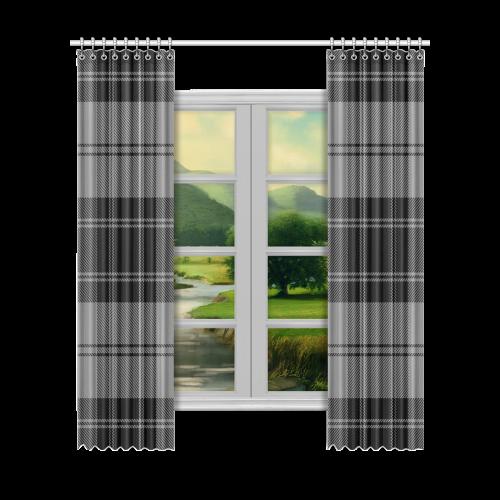 """Douglas Tartan Window Curtain 52""""x120""""(Two Piece)"""