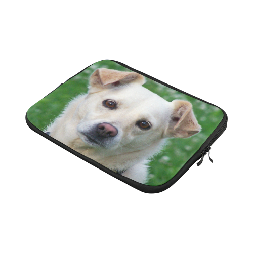 Dog face close-up Custom Laptop Sleeve 13""