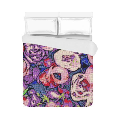 """Floral Art Studio 28216Z Duvet Cover 86""""x70"""" ( All-over-print)"""
