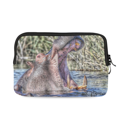 painted hippo iPad mini