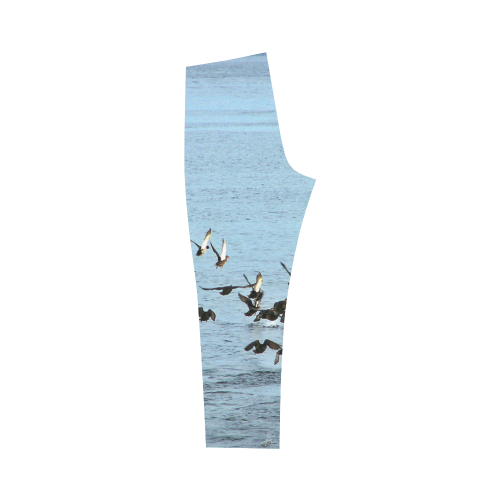 Flock Off Capri Legging (Model L02)