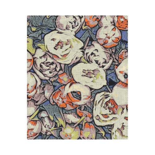 "Floral Art Studio 28216B Duvet Cover 86""x70"" ( All-over-print)"