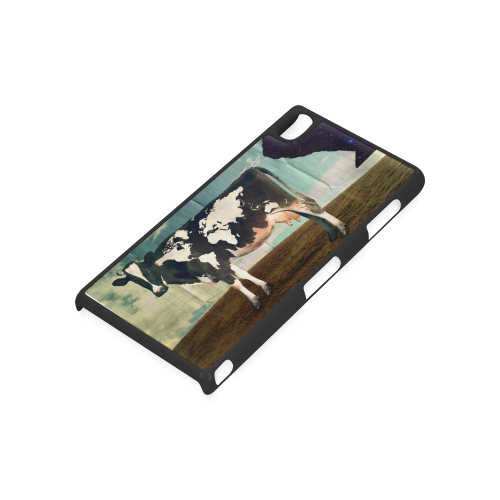 Surreal Bovine World Atlas Hard Case for Sony Xperia Z3