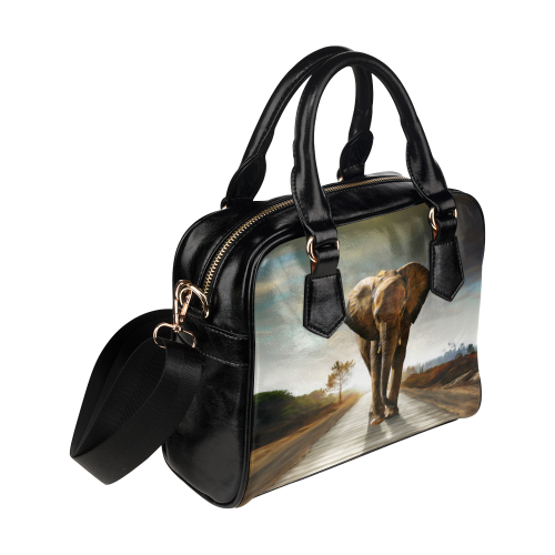The Elephant Shoulder Handbag (Model 1634)