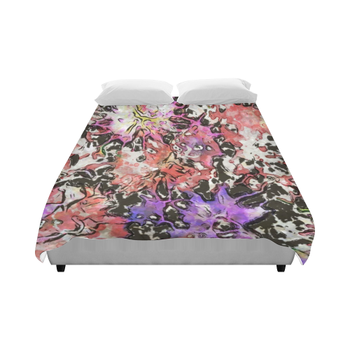 "Floral Art Studio 6216B Duvet Cover 86""x70"" ( All-over-print)"