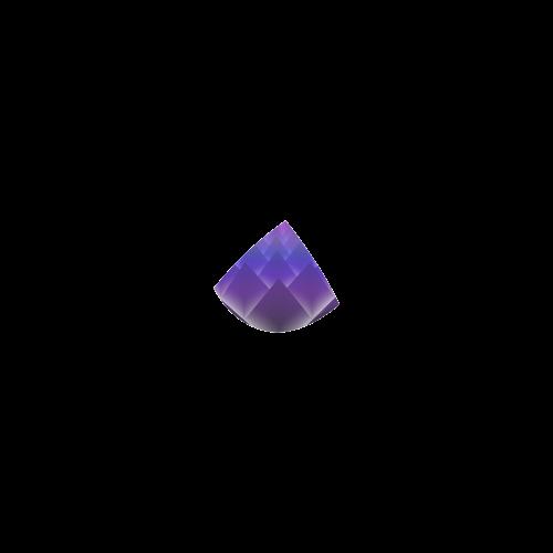 Glowing Purple 3D Pyramids Custom Bikini Swimsuit