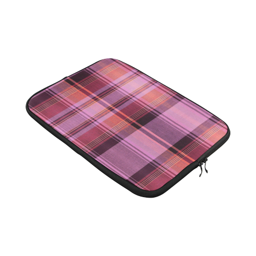 PINK PLAID Custom Laptop Sleeve 15''