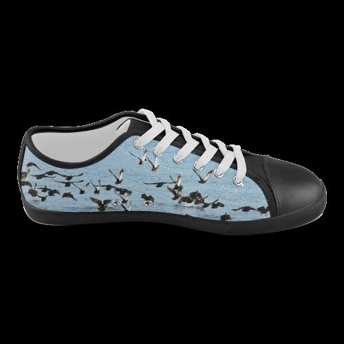 Flock Off Women's Canvas Shoes (Model 016)