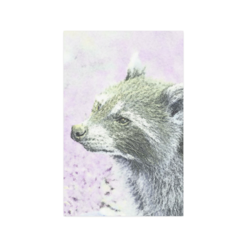 """sketched racoon Poster 11""""x17"""""""