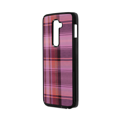 PINK PLAID Hard Case for LG G2