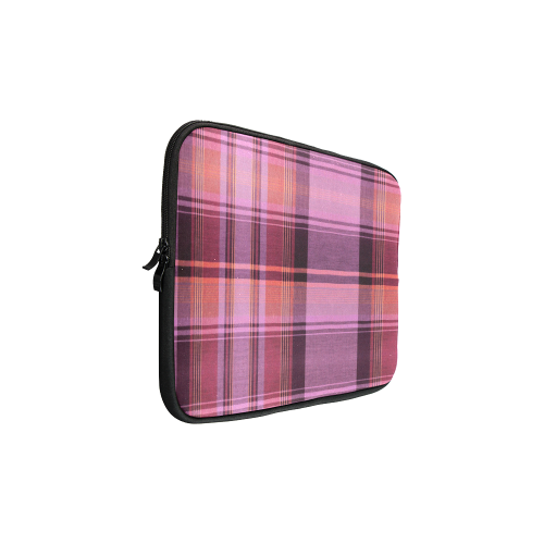 PINK PLAID Custom Sleeve for Laptop 15.6""