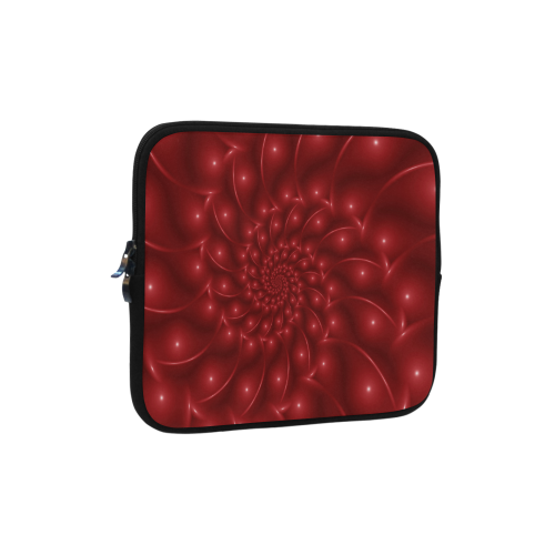 Glossy Red Spiral Fractal Microsoft Surface Pro 3/4