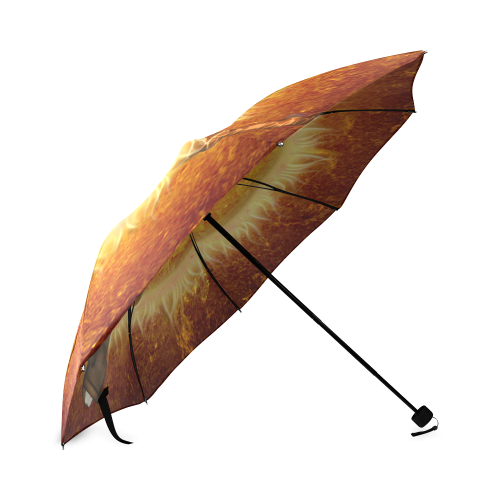 funny giraffe Foldable Umbrella