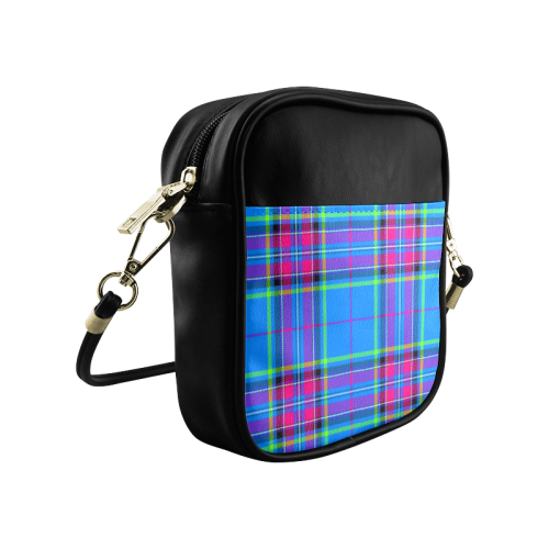 TARTAN-BLUE Sling Bag (Model 1627)