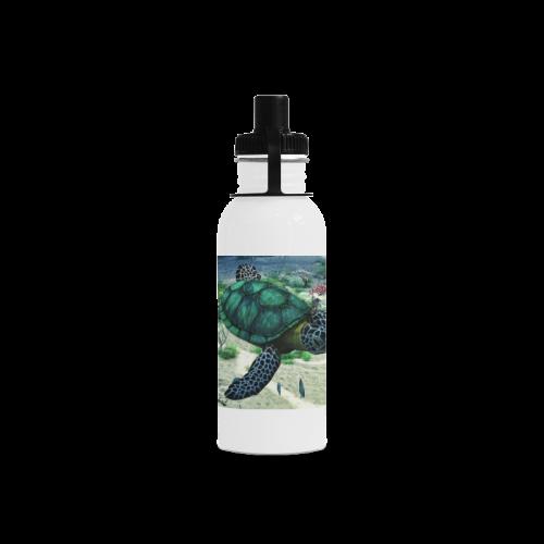 Sea Turtle Manchester Sports Bottle(22OZ)