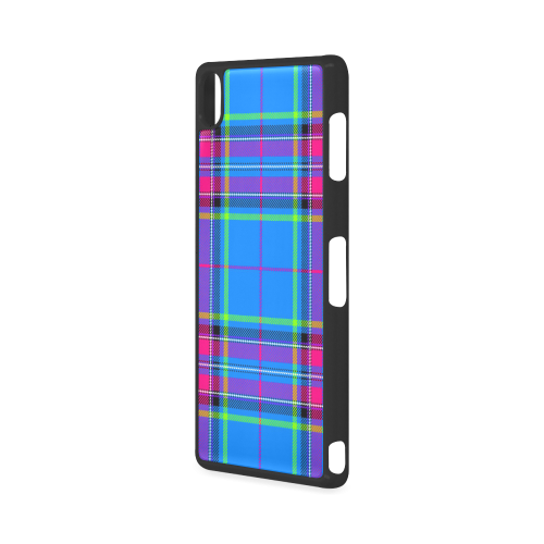 TARTAN-BLUE Hard Case for Sony Xperia Z3