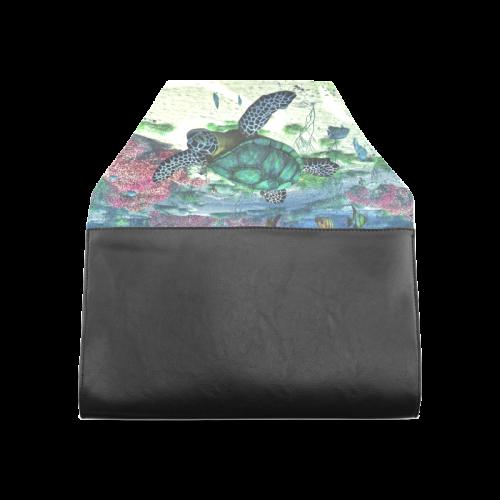 Sea Turtle Clutch Bag (Model 1630)