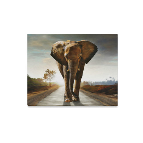 "The Elephant Canvas Print 20""x16"""