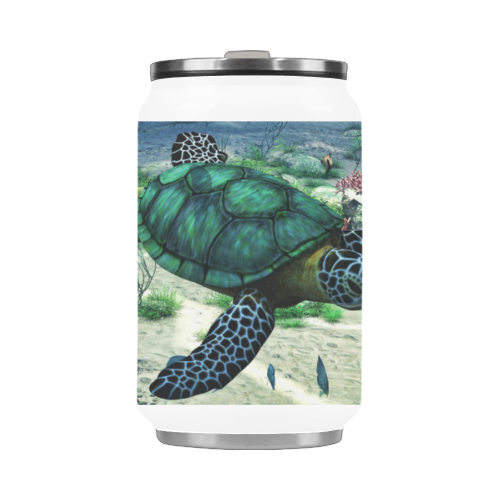 Sea Turtle Stainless Steel Vacuum Mug (10.3OZ)
