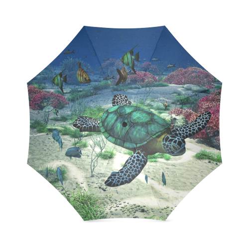 Sea Turtle Foldable Umbrella