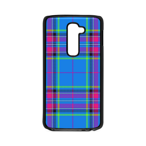 TARTAN-BLUE Hard Case for LG G2