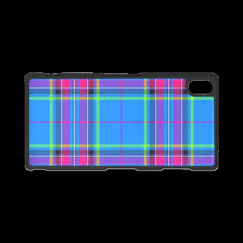 TARTAN-BLUE Hard Case for Sony Xperia Z3