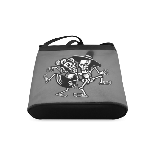 lets dance- Skulls Crossbody Bags (Model 1613)