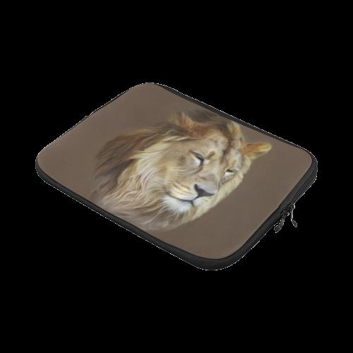 A magnificent painting Lion portrait Macbook Pro 11''