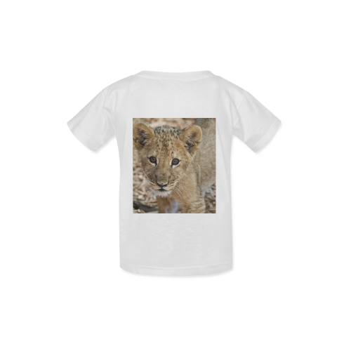 BABY lion Kid's  Classic T-shirt (Model T22)